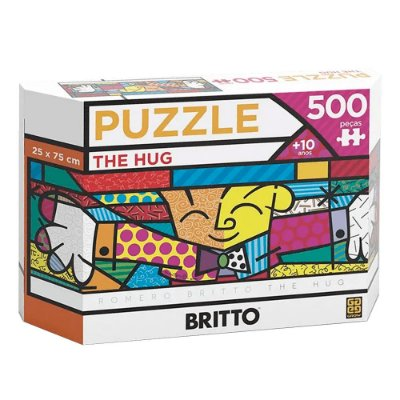 Quebra-Cabeça Romero Britto The Hug 500 peças
