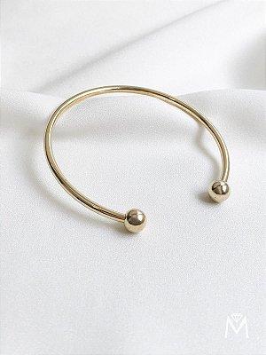 Bracelete Gold regulável banhado a ouro 18K
