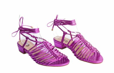 Sandália Fios - Pink