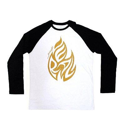 Geração Real Branca/Preta com estampa Dourada