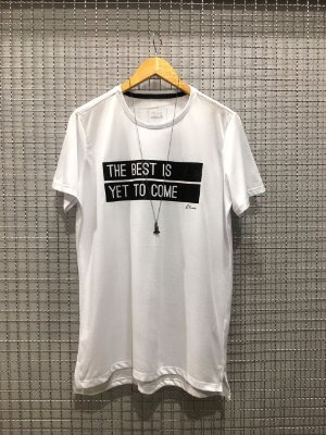 Camiseta The Best Is Yet To Come branca
