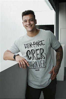 Camiseta Crer para Ver long