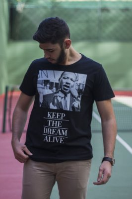 Camiseta Luther King