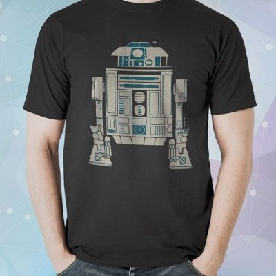 Camiseta Star Wars R2-D2