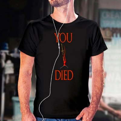 Camiseta Dark Souls You Died