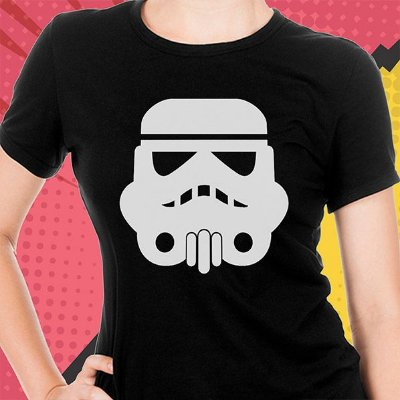 Baby Look Star Wars Storm Trooper