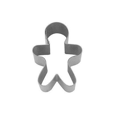 Cortador de biscoito boneco de gengibre inox 5 cm Doupan