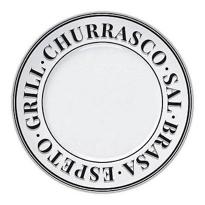 Prato churrasco 27 cm Germer