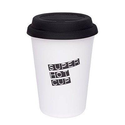 Copo para café com tampa Trip Super Oxford