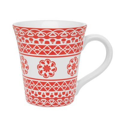 Caneca Tulipa 330 ml Renda Oxford