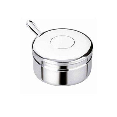 Açucareiro de inox com colher 250 gramas Art'Inox