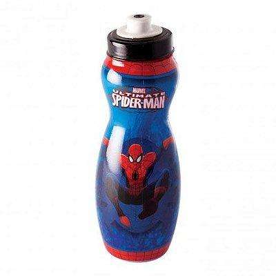Garrafa Squeeze Homem Aranha Plasútil