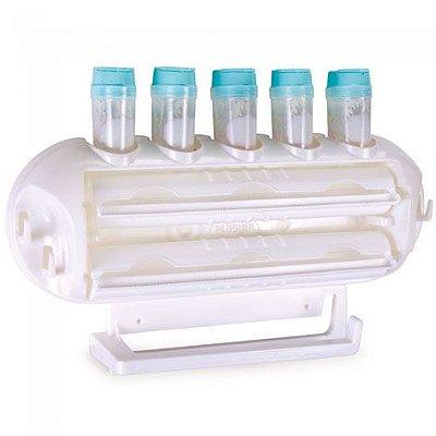 Conjunto porta rolos e condimentos Plasútil