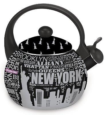 Chaleira New York Decor&Casa