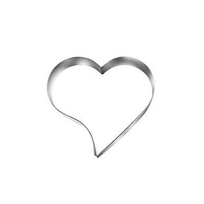 Cortador de biscoito coração inox Doupan