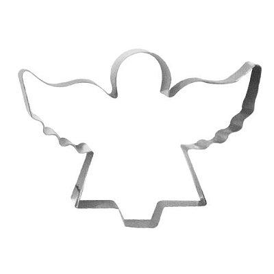 Cortador de biscoito anjo inox 6 cm Doupan