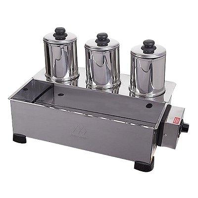 Esterilizador 3 Bules com Termostato 750W Marchesoni