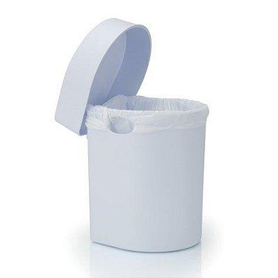 Lixeira de pia Hide 3,5 litros branca - Ou