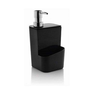 Dispenser para detergente 650 ml preto - Ou