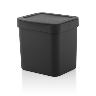 Lixeira Trium 2,5 litros - Ou preta
