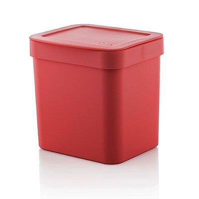 Lixeira Trium 2,5 litros - Ou vermelha