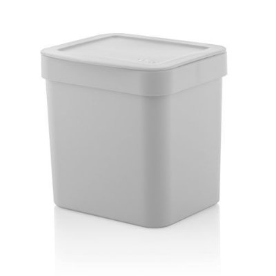 Lixeira Trium 2,5 litros - Ou branca