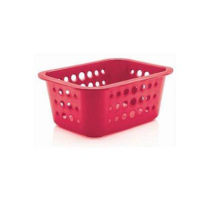 Caixa organizadora P rosa pink - Ou