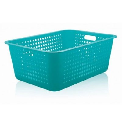 Caixa organizadora Maxi Azul fechado - Ou
