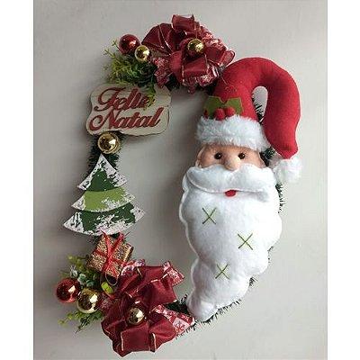 Guirlanda decorada Papai Noel - Vicentin
