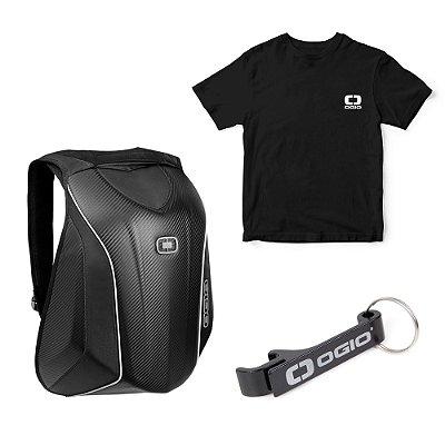 Mochila OGIO No Drag Mach 5 Le Pack - Ganhe Camiseta e Chaveiro de brinde