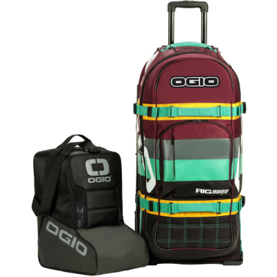 Bolsa De Equipamentos Ogio Rig 9800 Pro Wheeled Bag - Block Party
