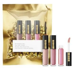 PAT MCGRATH LABS Mini LUST: Gloss™ Trio Skin Show Nudes (Pink)
