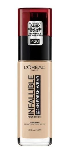 L'Oreal Paris Infallible 24hr Fresh Wear Foundation