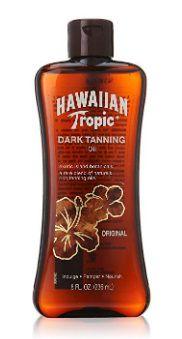 Hawaiian Tropic Dark Tanning Oil Original