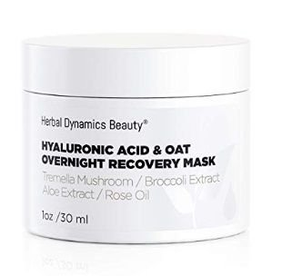 HD Beauty Hyaluronic Acid + Oat Overnight Recovery Mask