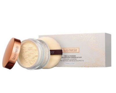 LAURA MERCIER Pret-a-powder Limited Edition Powder & Puff TRANSLUCENT