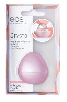 eos Crystal Lip Balm, Hibiscus Peach