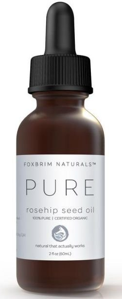 FOXBRIM NATURALS 100% Pure Organic Rosehip Seed Oil