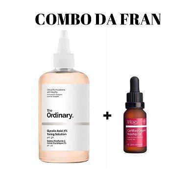 COMBO DA FRAN (Ácido Glicólico + Rosa Mosqueta)