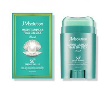 JMSOLUTION Marine Luminous Pearl Sun Stick SPF50+ PA++++ 21g