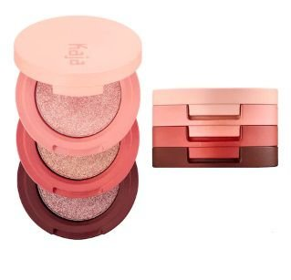 KAJA Beauty Bento Bouncy Shimmer Eyeshadow Trio