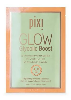 Pixi by Petra GLOW Glycolic Boost - Brightening Face Mask Sheet