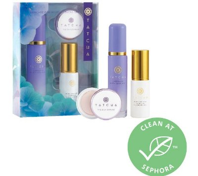 TATCHA Skincare For Makeup Lovers Set