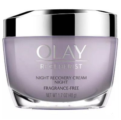 OLAY Regenerist Fragrance-Free Night Recovery Cream Moisturizer