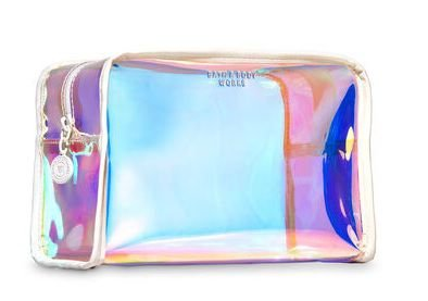 BATH & BODY WORKS Iridescent Cosmetic Bag