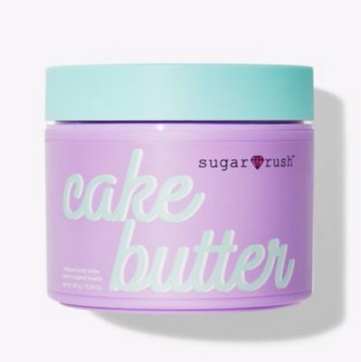 TARTE COSMETICS sugar rush™ cake butter whipped body butter