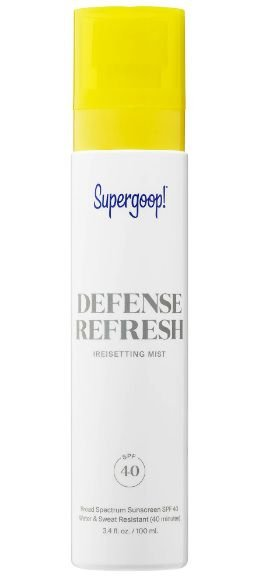 SUPERGOOP! Defense Refresh (Re)setting Mist SPF 40