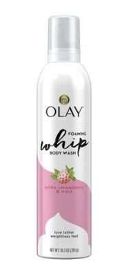 OLAY White Strawberry and Mint Scent Foaming Whip Body Wash for Women