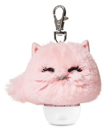 BATH & BODY WORKS PINK CAT POM PocketBac Holders
