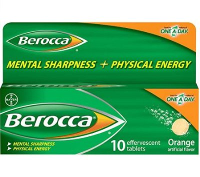 Berocca Vitamina C 10 cápsulas